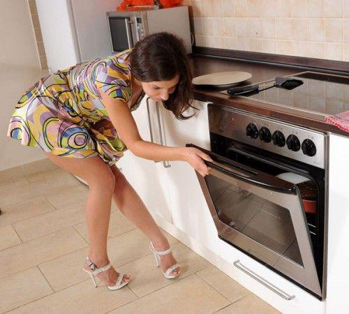 мастурбация кухонными предметами: