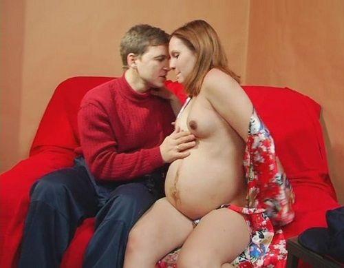 русская беременная сантехником порно