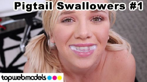 Heather Lee - Pigtail Swallowers Compilation 1 (2019/FullHD)